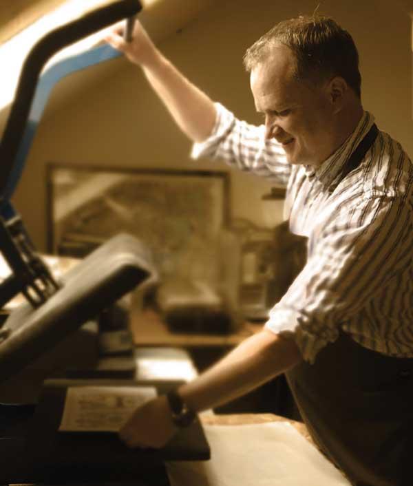 Irish Heritage Cert - Specialist printing.
