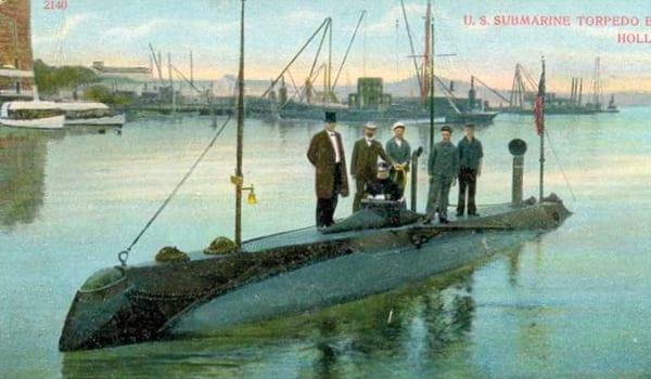 Proud Irish Heritage- Submarine