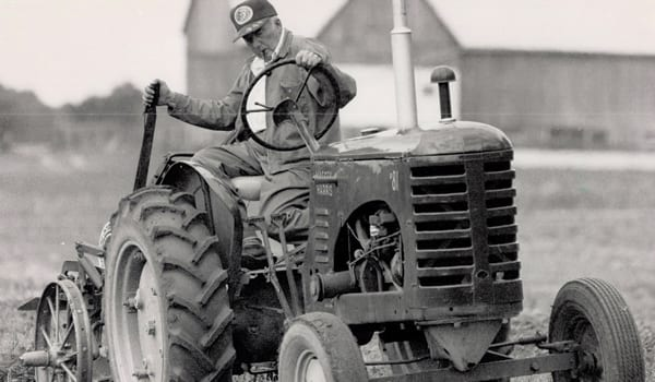 Proud Irish Heritage-  Tractor