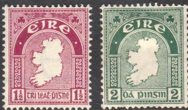 Proud Irish Heritage-  stamps