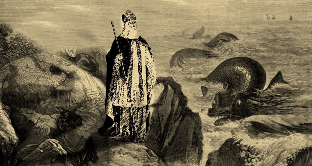 St Patrick and the last serpent