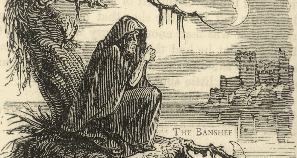 Proud Irish Heritage - Stories from Ireland- The Irish Banshee